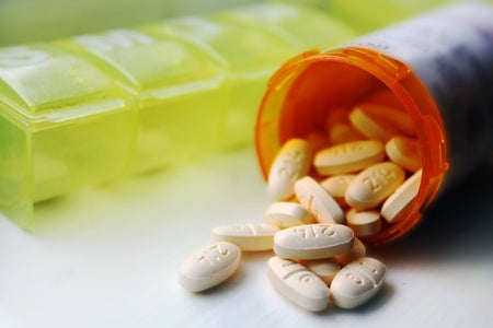 Pills Spilling