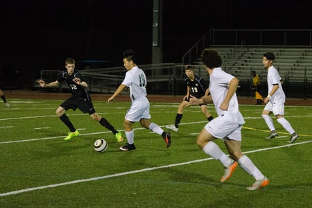 Sports Boys Soccer Chasing For Ball