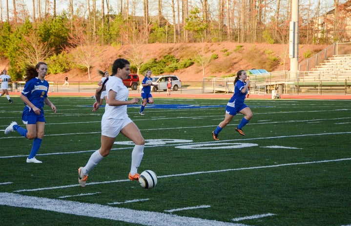 Sports Girl Soccer Player