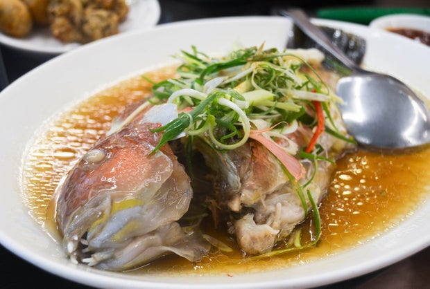 Fish Whole Steamed