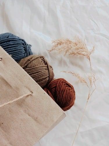 crocheting aesthetic