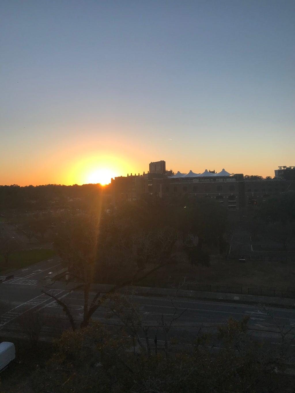 Pensacola Garage Sunset