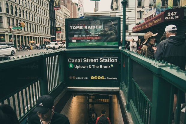 Canal Street Station Signage