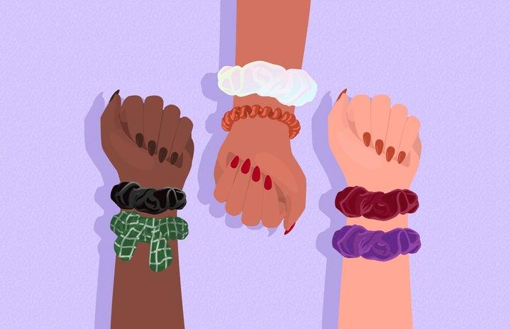 Ways To Wear Scrunchies R1
