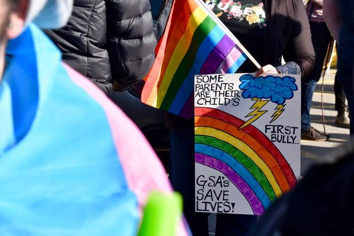 pride march signs