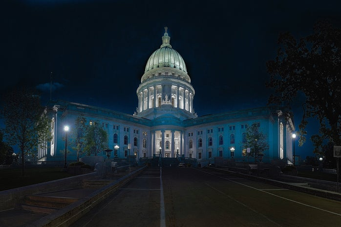 Capitol building in Madison
