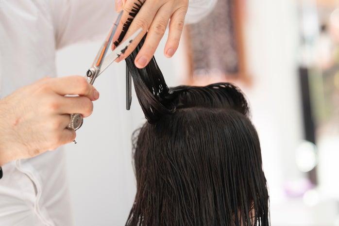 hair cut long hair