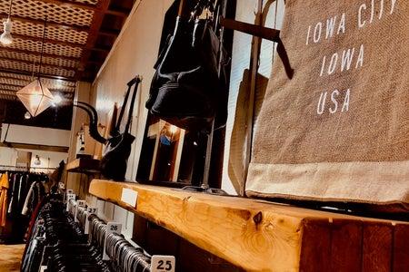 Iowa City bag in boutique