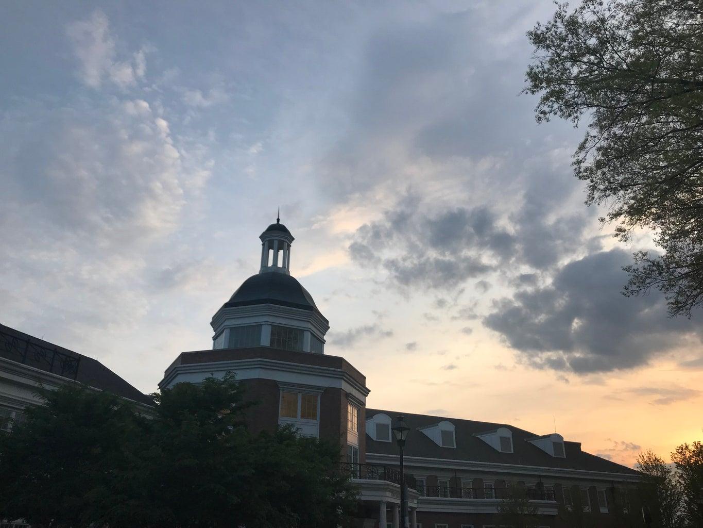 Ohio University Baker hall