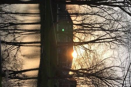 Ohio University Sunset at Emeriti Park