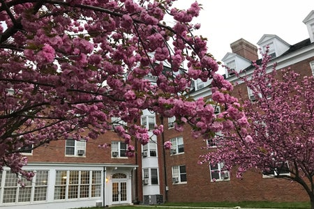 Ohio University Washington Hall Spring