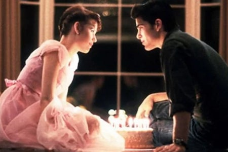 Sixteen Candles cake scene