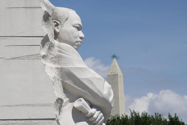 The Stone of Hope at the Martin Luther King Jr. Memorial