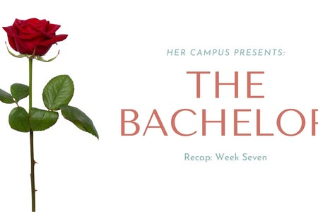 original graphic for week seven of the bachelor recap series