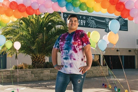 Zeke Ibarra for We Day