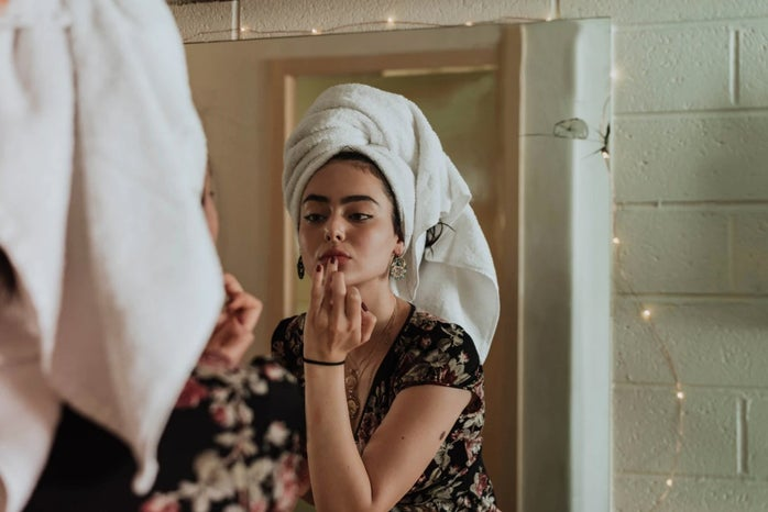 Skincare morning routine