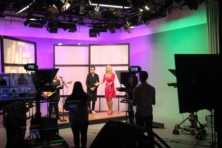 The Emerson Channel Show Filming