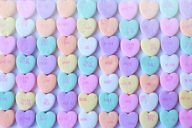 Valentine's Sweetheart Candies
