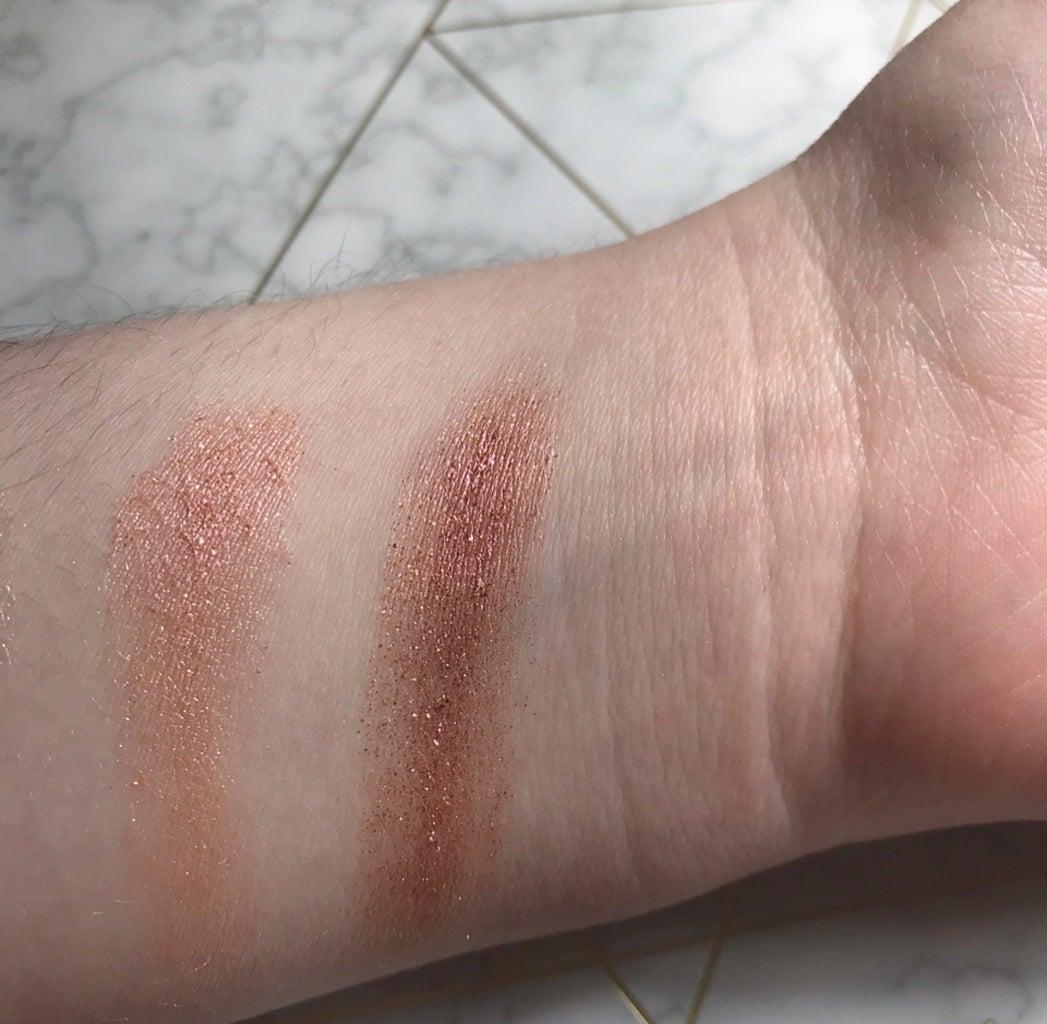 colourpop makeup swatches