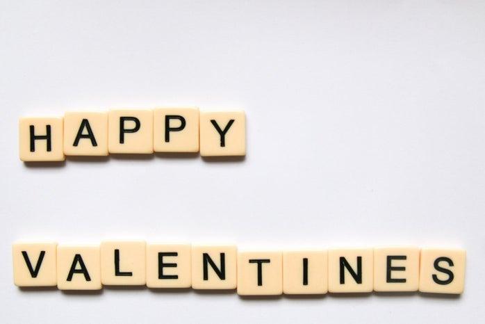 Happy Valentine\'s Day crossword puzzle