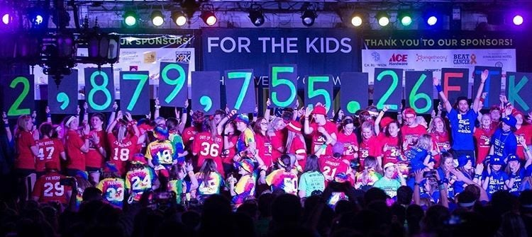 University of Iowa Dance Marathon 26 fundraising total reveal at big event