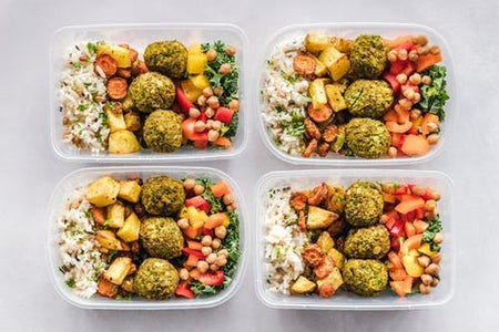 food in containers