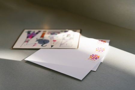 """white paper with letters """"love letters"""""""