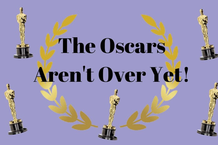 text with pictures of oscars