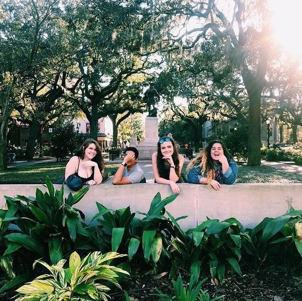 Friends in Savannah