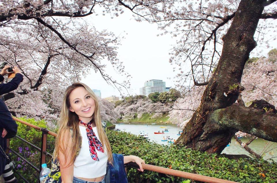 image of girl in Japan