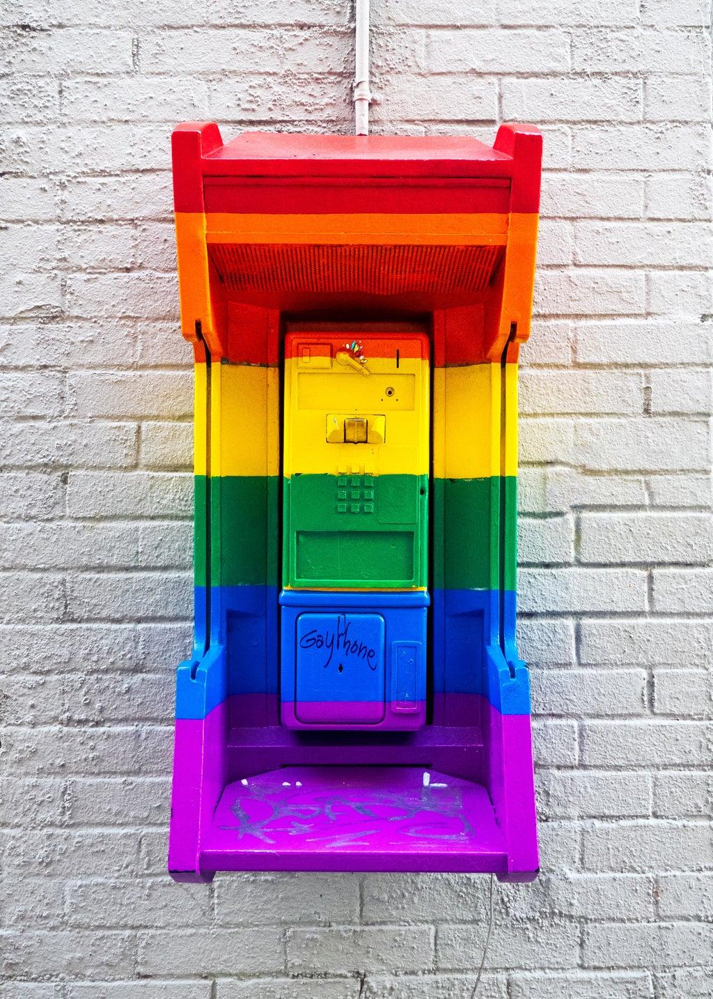 a rainbow phonehome