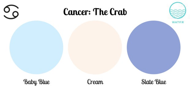 Cancer color palette
