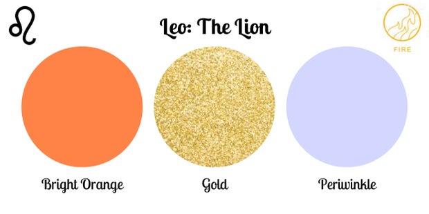 Leo color palette