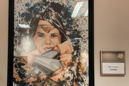 Wonder Woman Valdes