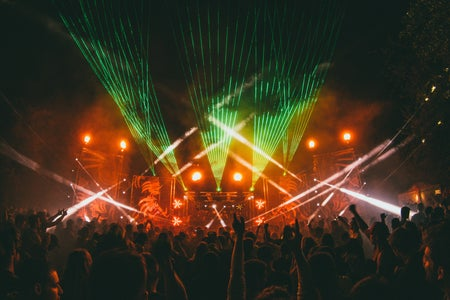 Concert with Lasers