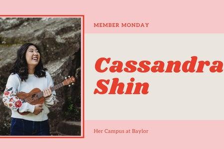 Member Monday Cassandra Shin