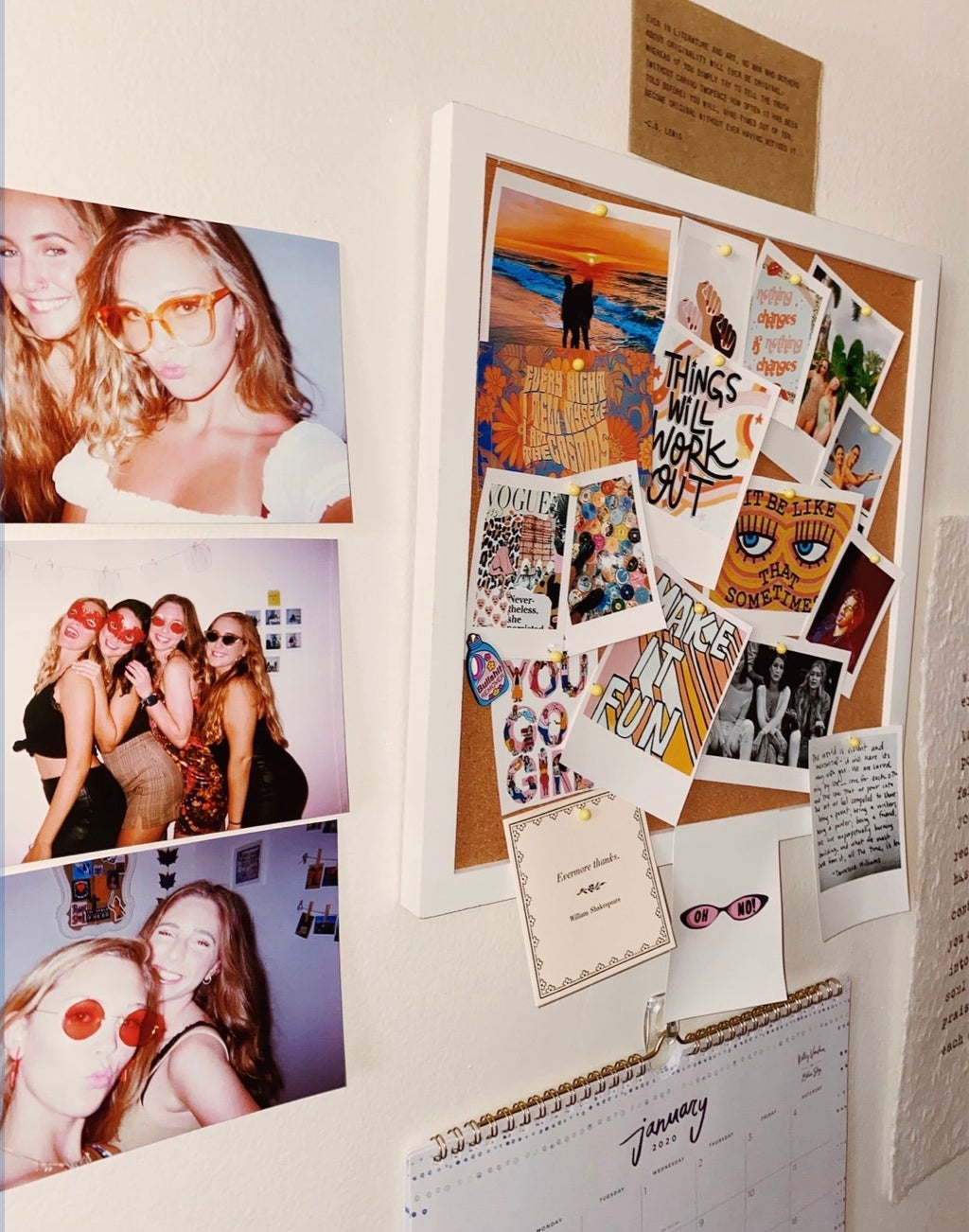 Picture of pictures on a wall