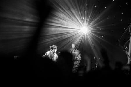 Concert photography of Rex Orange County