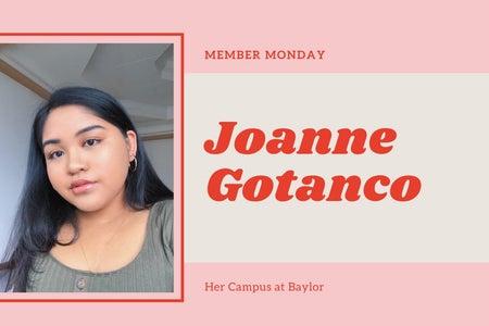 Member Monday Joanne Gotanco
