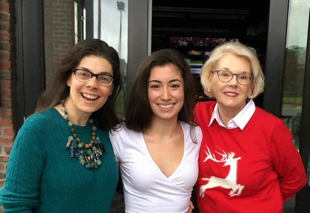 Dana, Amanda, and Sally