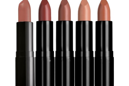 lipstick in various pink shades