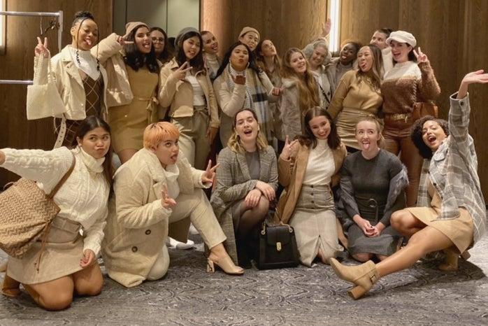 college fashion week boston models