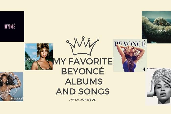 Beyoncé album covers
