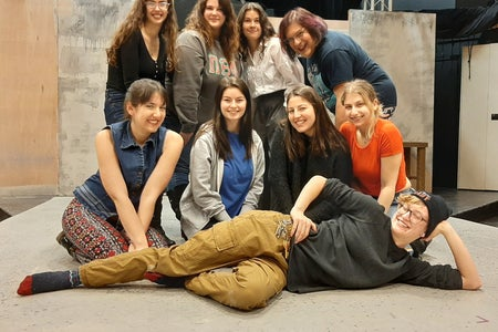9 Cast Members of the Vagina Monologues Guelph
