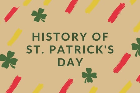 Article Graphic made on Canva for St. Patricks Day