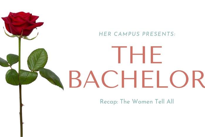 the bachelor women tell all