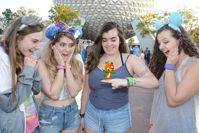 Disney Epcot photopass picture