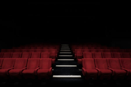 Empty movie seats