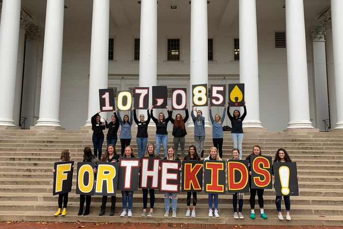 Original photography of an on campus philanthropy event, Terp Thon. The images go alongside an article to be published this week featuring the 12-hour dance marathon.