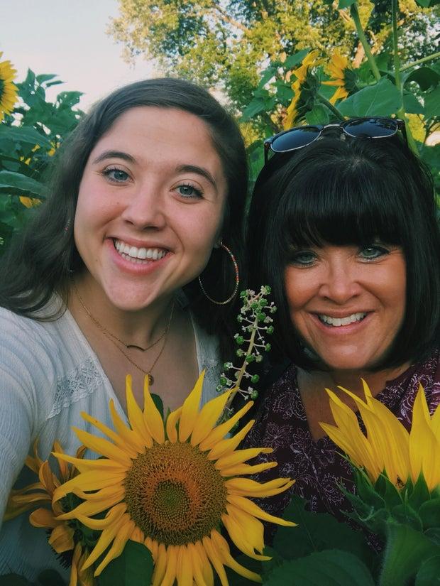 Emma Gero with Mom
